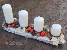 Pillar Candles, Centerpieces, Mesas, Xmas, Candles