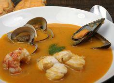 Sopa bullabesa con salsa rouille para #Mycook http://www.mycook.es/cocina/receta/sopa-bullabesa-con-salsa-rouille