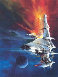 moonzerotwo: Entering the Protected Zone - John Berkey