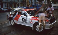 Mitsubishi Starion Group B Prototype, Rallye des 1000 pistes