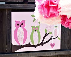 Vintage Owl Baby Shower - Bella Paris Designs