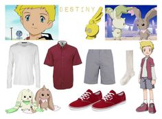 """Willis"" by not-by-sight ❤ liked on Polyvore featuring Vans, Isabel Marant, Jigsaw, Kai-aakmann, digimon, terriermon, digimon lopmon, willis, digimon willis and digimon the movie"