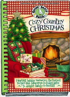 Cozy Country Christmas Cookbook RETIRED & ON SALE!