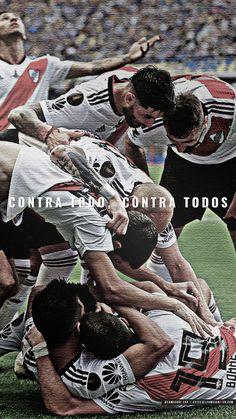 Fondo de Pantalla River Plate para Celular – River contra todo, contra todos Rivera, Gaston, Uefa Champions League, Carp, Tokyo Ghoul, Soccer, Tumblr, Plates, Pictures
