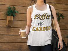 Calling ALL of  YOU fun COFFEE & CARDIO lovers like myself! #CoffeeTankTops #CardioTankTops #Flowy #TankTops #Tops https://teespring.com/coffee-cardio-flowy-tank-tops
