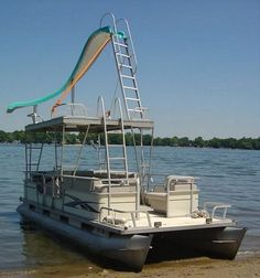 Serious party barge.