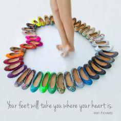 Tieks by Gavrieli- I'll take one pair of each, please! :-D