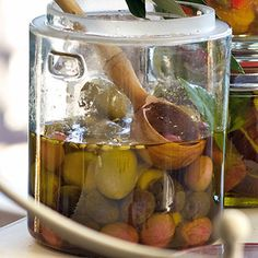 Eingelegte Oliven sizilianische Art Rezept | Küchengötter