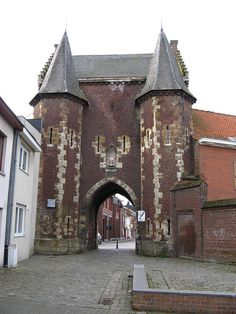Koepoort,backside, ninove, belgium