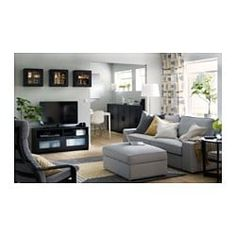 BRIMNES TV unit IKEA This TV unit has large drawers that make it easy to keep remote controls, game controllers and other TV accessories organized. Brimnes, Ikea, Living Room Grey, Living Room Decor, Black Tv Unit, Tv Bank, Tv Accessories, Painted Drawers, Glass Cabinet Doors