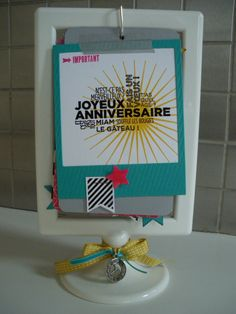 - Scrapbooking Azza et Stampin'up Ikea Frames, Mini Albums Scrap, Birthday Calendar, Idee Diy, Pocket Letters, Occasion, Stamping Up, Mini Books, Craft Fairs
