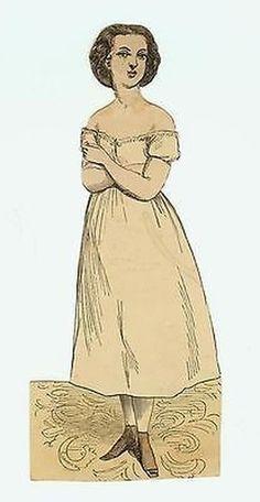 McLoughlin Jessie Jones Paper Doll + 4 Dresses (03/30/2014)