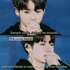 Read Volví ♥ from the story Imágenes Con Frases Bts Quotes, Life Quotes, Bts Memes, Frases Bts, Sad Wallpaper, Love Phrases, Fake Love, Bts Lockscreen, Foto Bts