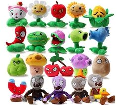 £1.91 GBP - Plants Vs. Zombies(Pvz) Soft Plush Teddy Toys Dolls Children Plush Soft Toy #ebay #Collectibles