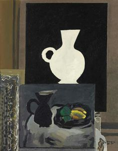 Georges Braque (French, 1882-1963), Atelier I, 1949. Oil and sand on canvas, 92 x 72.7 cm.