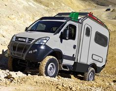 Looking for a small but tough camper? Motorhome-World, a South African company, is busy putting the final touches to a . Iveco Daily 4x4, Iveco Daily Camper, Iveco 4x4, 4x4 Camper Van, 4x4 Van, Camper Caravan, Truck Flatbeds, Truck Camper, Pickup Trucks
