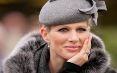 Zara Phillips  Mike Tindall proposed to Zara with a diamond and platinum, double band engagement ring. The couple wed in Edinburgh in 2011.