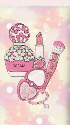 Maquillaje Pink Wallpaper Girly, Black Background Wallpaper, Flower Phone Wallpaper, Love Wallpaper, Iphone Wallpaper, Makeup Wallpapers, Pretty Wallpapers, Whatsapp Wallpaper, Fashion Artwork