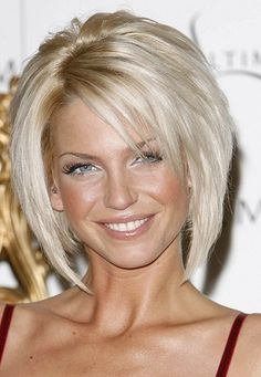 Sarah Harding-Layered Hairstyles for Women with Thin Hair l www.sophisticatedallure.com