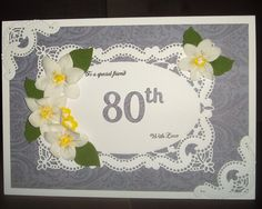 The is beautiful die creates the perfect frame to add a sentiment or decorate it as you wish. Milestone Birthdays, I Card, Create, Beautiful, Home Decor, Decoration Home, Room Decor, Home Interior Design, Home Decoration