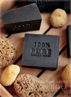 100% Pure Olive Castile Soap  달콤하고 사랑스러운 디자인비누 바닐라베리 - 비누만드는 남매의 작업실