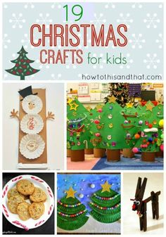 Quick and easy crafts for kids,  Christmas crafts , holiday crafts