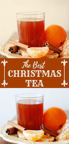 The Best Christmas Tea ever! #Drink #Celebrate Cocktail Recipes For A Crowd, Easy Summer Cocktails, Fall Drinks, Party Drinks, Cocktail Drinks, Tea Drinks, Beverages, Chai Tea Smoothie, Tea Smoothies