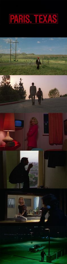 Paris, Texas (1984) - Cinematography by Robby Müller | Directed by Wim Wenders