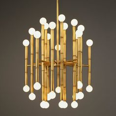 I do love this Adler chandelier for Robert Abbey. May use it in my office!