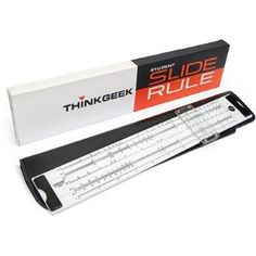 ThinkGeek Slide Ruler (Office Product) http://www.amazon.com/dp/B003M5B84C/?tag=wwwmoynulinfo-20 B003M5B84C