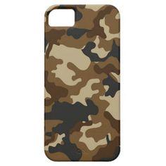 Brown Camo iPhone 5 Case