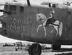 Photos of B24 Liberator Nose Art  Airplane nose art