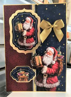 Hunkydory Crafts, Hunky Dory, Twas The Night, The Night Before Christmas, Christmas Inspiration, A5, Card Ideas, Christmas Cards, Basket