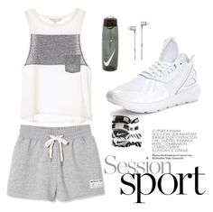 session sport by simonabartoletti on Polyvore featuring polyvore fashion style adidas NIKE Master & Dynamic clothing