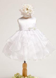 White Perfect Infant Dress