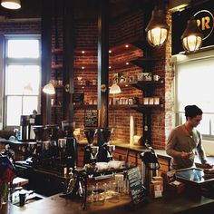 third stop on the coffee crawl, @ristrettoroasters in schoolhouse electric. do i need to mention it's gorgeous?