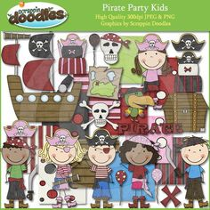 Scrappin' Doodles Pirate Party