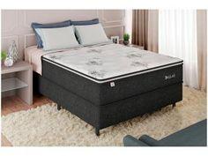 Cama Box Bipartido, Dallas, Cama Box Queen Size, Mattress, Bench, Storage, Furniture, Home Decor, 168
