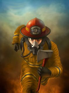 Create a Heroic Firefighter Painting in Photoshop - 15 Newest Heart-stirring Photoshop Tutorials