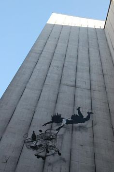 Shop till you drop! London #banksy #streetart