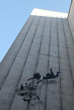 Shop till you drop! London #banksy #streetart