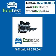 Reparatii electronice mecatronica cutiei automate S-Tronic 0B5 DL501. #ClujNapoca #Cluj #Romania #Mecatronica #CutiiAutomate #Electronica #Audi #Stronic #0B5 #DL501 #TCU #ecutest - testare mecatronica - reparatie de natura electronica si hidraulica a mecatronicii - reprogramari software - update software - clonari software Contacteaza-ne : Tel : 0757 06 01 33 www.ecutest.ro Audi, Porsche, Bmw, Software, Volvo, Romania, Jaguar, Toyota, Electronics