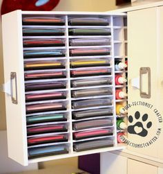 purrfectionistcrafter.com » Mama Elephant Ink Pad Holder Tutorial & Guest Blogger! Learn how to build your own ink pad storage ...