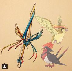Bird sword