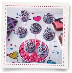 Monster High™ Doughnut Hole Pops How-To - Party City Theme Parties, Party Themes, James Music, Doughnut Holes, Party Goods, Best Part Of Me, Happy Easter, Baby Showers, Amen