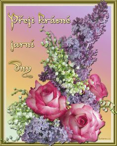 01 serik_ruze Floral Wreath, Jar, Wreaths, Flowers, Painting, Gifs, Home Decor, Spring, Floral Crown