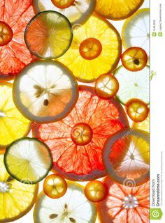 Sliced Citrus Fruits - Download From Over 46 Million High Quality Stock Photos, Images, Vectors. Sign up for FREE today. Image: 16454202