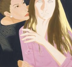 Birthday Party By Alex Katz ,1990
