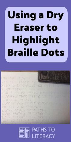 Sharing the Braille Code with Sighted Children