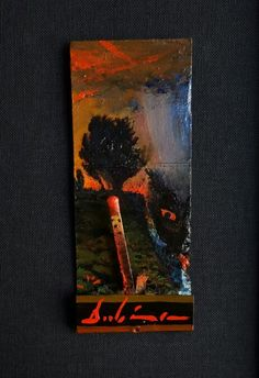 """Day 295 of the Matchbook Series 2015 """"The Day the Devil Comes to Getcha"""" by Michael Dubina"""